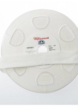 Fillawant 1.40€ p/m - Ecru - Jersey Biaisband