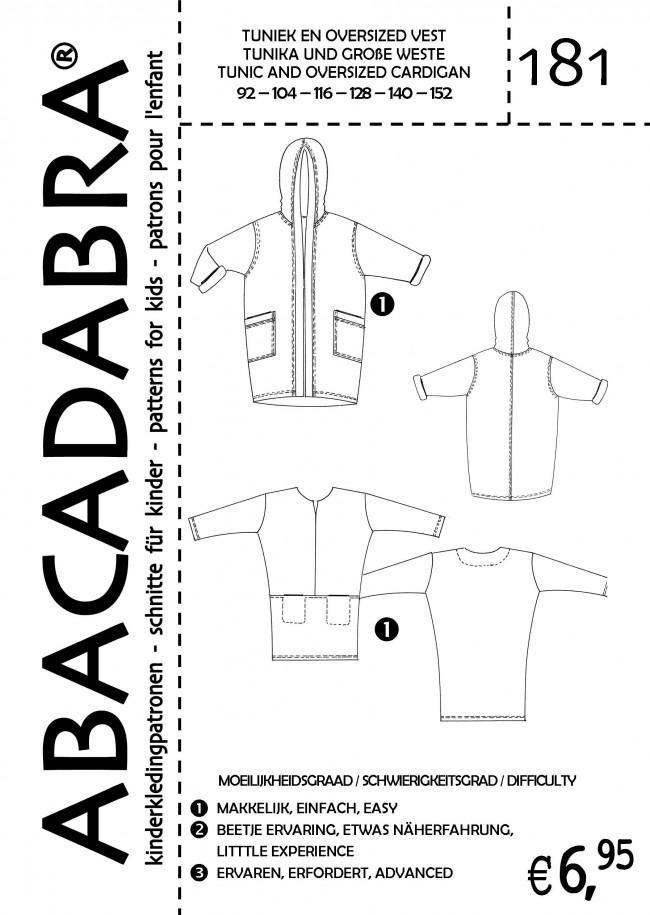 Naaipatroon Abacadabra 181