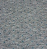 12,50€ Per Meter - Quilt Turquoise Stars And Stripes - Sweaterstof