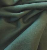 15€ p/m - Groengrijs - Elastische Jeans Tricot