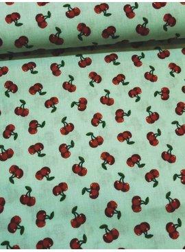 POPPY 4,50€ Per Meter - Cherry Blossom - Bedrukte Katoen