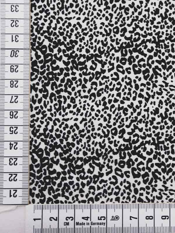 10€ Per Meter - Zwarte Panter - Elastisch Katoen