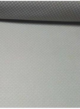 0,6m x 150cm - Doorstikt Zilvergrijs - Punta Di Roma
