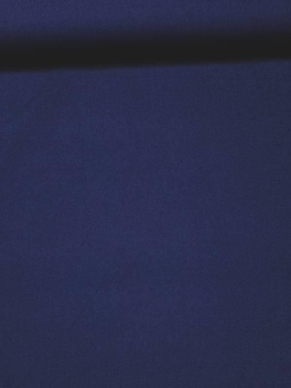 8€ Per Meter - Blauw Candy Cotton - Effen Katoen