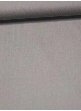 8€ Per Meter - Lichtgrijs Candy Cotton - Effen Katoen