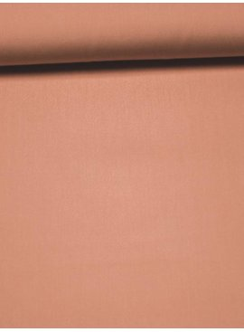 8€ Per Meter - Perzik Candy Cotton - Effen Katoen