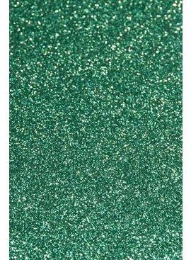 Appelblauwzeegroen Glitter - 25 X 20 Cm - Flex Folie