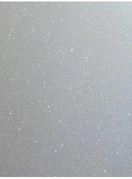 Wit Glitter - 25 X 20 Cm - Flex Folie
