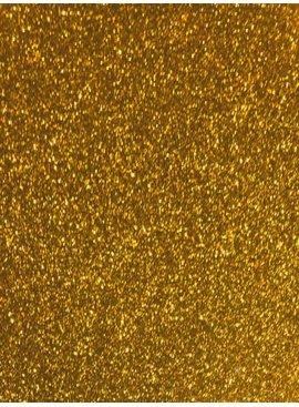 Goud Glitter - 25 X 20 Cm - Flex Folie