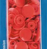 Prym Color Snaps - Licht Rood Rond