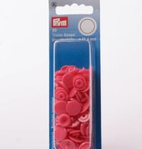 Prym Color Snaps - Framboos Roze Rond
