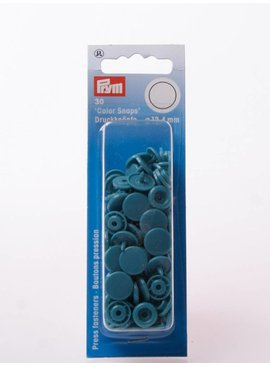 Prym Color Snaps -Donker Turquoise Rond