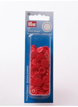 Prym Color Snaps - Rood Rond