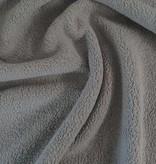 7€ p/m - Kalksteen Grijs - Katoenfleece