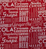 1m op 1,1m Sodalicious Cherry - Michael Miller