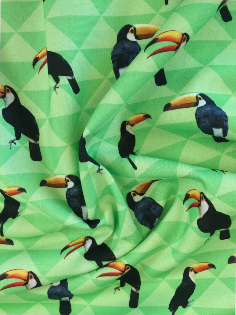 13,50€ p/m - Digitale toekan - Panamakatoen - Decoratiestof