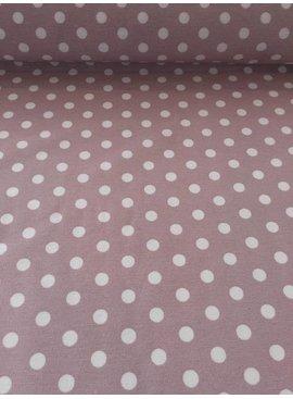 7€ p/m - Polka Dots - Oudroze - Decoratiestof
