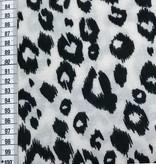 10€ Per Meter - White Panther - Gebreid