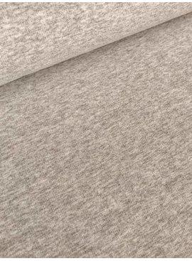12€ p/m - Beige Gemêleerd - Sweaterstof