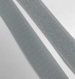 2,7€ p/m - Grijs - Klittenband Opnaaibaar