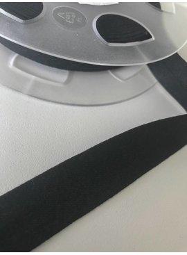 Fillawant 1,40€ p/m - Jersey Zwart - Biaisband