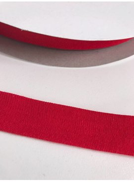 1.50€ p/m - Rood - Tricot Biaisband
