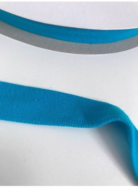 1.50€ p/m - Turquoise - Tricot Biaisband