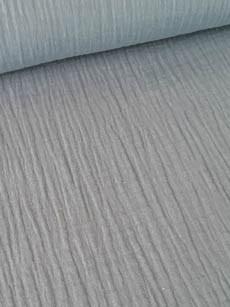 9€ p/m - Lichtgrijs - Hydrofiel Stof