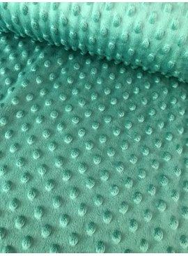 1,20m x 150cm - Oudgroen - Minky Fleece