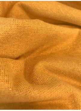11,50€ p/m - Oker Glitter Goud - Boordstof