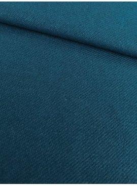 15€ p/m - Petrol - Elastische Jeans Tricot
