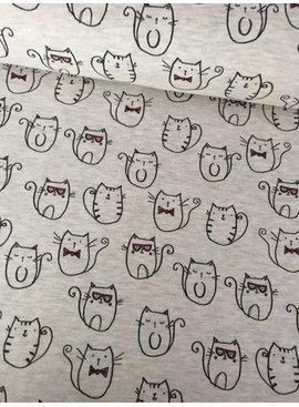 Poppy 14€ p/m - Funny Cats - Joggingstof