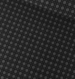 5€ p/m - Grijs Zwarte Vierkantjes - Elastisch Katoen