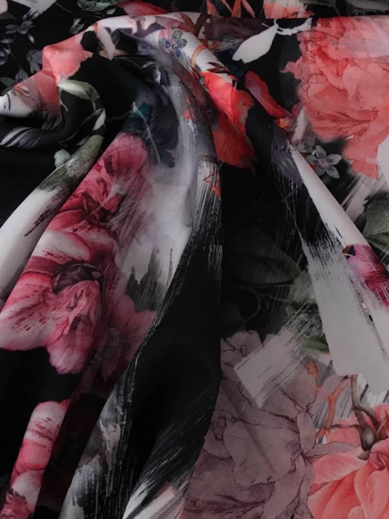 15€ p/m - Flower Print - Scuba