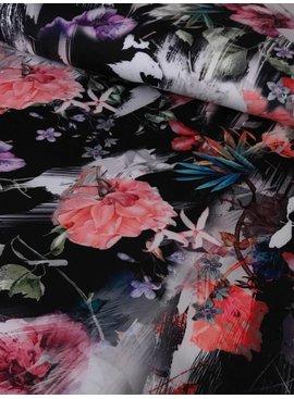 7€ p/m - Flower Print - Scuba