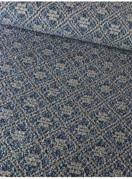 6€ p/m - Shiny Aztec Knit Jacquard - Jacquard