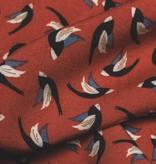 12,5€ p/m - Bird Print - Viscose