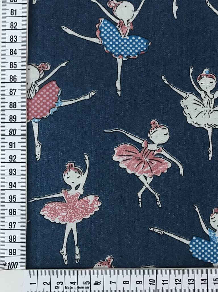 11,50€ p/m - Ballerina's - Chambray