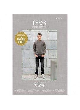 Naaipatroon Sweater Chess