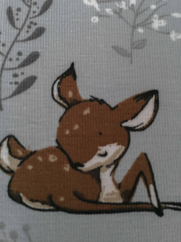 11,50€ p/m - Bambi's - Bedrukte Tricot