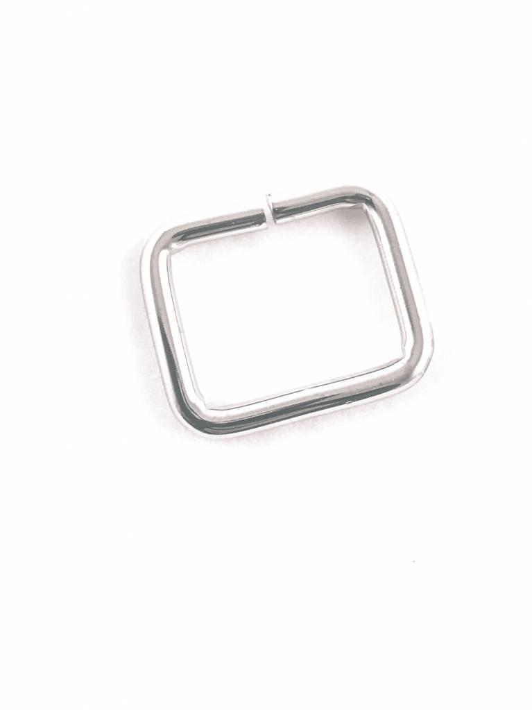 D-Ring 25mm Zilver