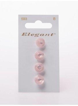 Elegant Poederroze Knopen - Elegant 593