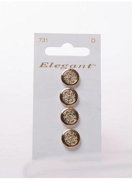 Elegant Gouden Knopen - Elegant 731