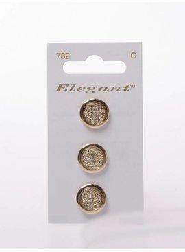 Elegant Gouden Knopen - Elegant 732