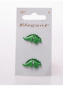 Elegant Dinosaurus Knopen - Elegant 967
