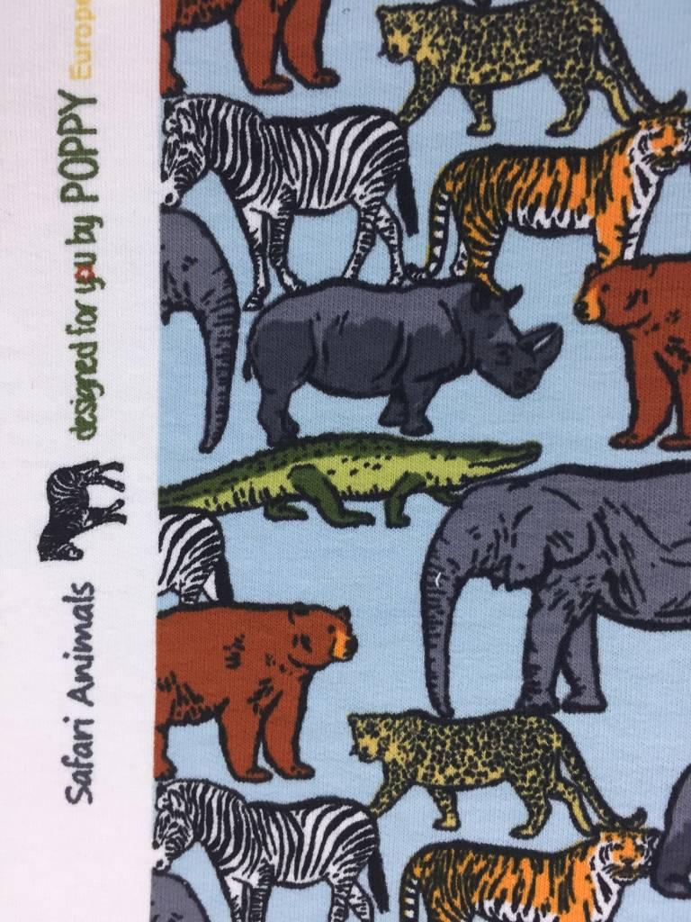 12€ p/m - Safari Animals - French Terry