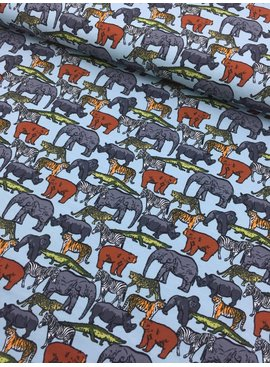 12€ p/m - Safari Animals - French Terry
