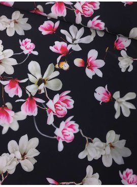 9€ p/m - Magnolia - Satijn