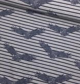 16€ p/m - Striped Eagle - Bedrukte Tricot