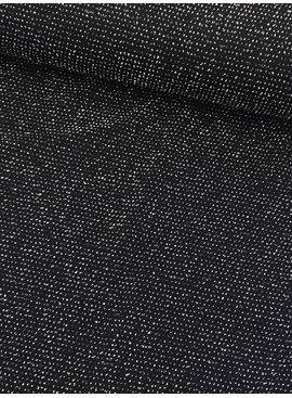 15€ p/m - Zwart met glitter - Bedrukte Tricot